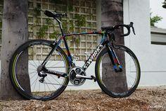 Pro bike: Peter Sagan 's Specialized S-Works Tarmac | CyclingTips http://cyclingtips.com/2016/05/peter-sagans-specialized-s-works-tarmac-pro-bike/ #cycling #racing #bike