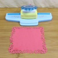 Super gran Furador Scrapbook cortador grande sacador del arte de DIY estera de papel Furador de papel