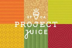 Project Juice bar branding and package design