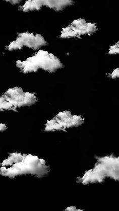 Black Aesthetic Wallpaper, White Wallpaper, Aesthetic Iphone Wallpaper, Aesthetic Wallpapers, Room Posters, Poster Wall, Shared Folder, Vintage Posters, Clouds