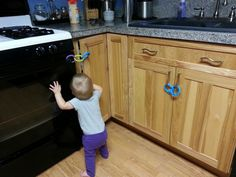 Links can be used for baby-proofing too!