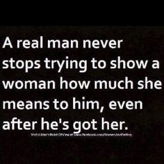 Goes for women too. I think women also forget that it's not just about them. Treat your man right too.