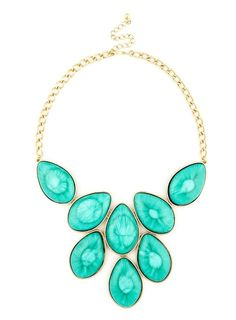 #Turquoise #Slice #Necklace