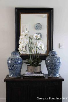 Blue and white design | Melinda Hartwright Interiors