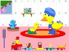 Wat leert je kind van deze educatieve app: Woordenschat Doelgroep Peuters en kleuters Plus Simpele navigatie. Vriendelijke voice-over. Min Geen herhaalknop bij de opdrachten. De app D…