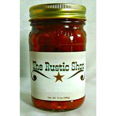 14oz Premium Apple Salsa  Right amount of sweat and spice. Review by Amber this goes GREAT with pork chops!! made breaded pork chops then topped it with this apple salsa and was perfect, sweat with a hint of the salsa kick to add a little spice to the chops. (Posted on 11/1/2015)