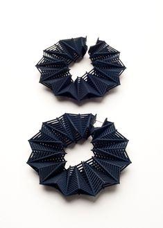 Earrings, Theresa Burger