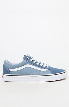 ac4d54c31e08c6 Vans Denim 2-Tone Old Skool Shoes