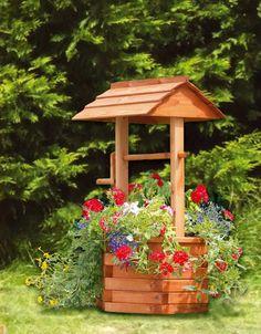 sweet little well in the backyard would be sweet!