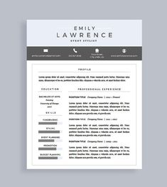 Create Resume Resume Templates Pinterest Template