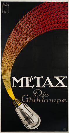 Metax by Deutsch, Ernst | Baumberger, Otto Baumann - Fraumunsterstr. 17, 1928 | Shop original vintage Swiss #posters online: www.internationalposter.com