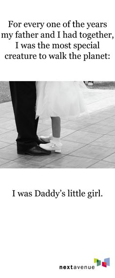 A favorite quote from one of our writers. Father's Day brings out the love in us Daddy's girls. #FathersDay