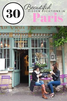 30 Beautiful Hidden Locations in Paris | WORLD OF WANDERLUST | Bloglovin'