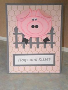 HYCCT1101A Hogs and Kisses
