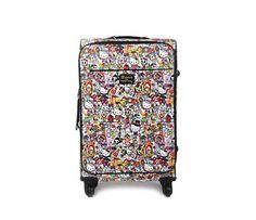 """tokidoki x Hello Kitty 24"""" Suitcase: Circus Collection"""