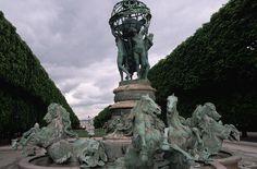 La fuente de los cuatro continentes, Paris.