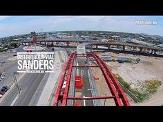 #Abejorro recorre el distribuidor vial Sanders
