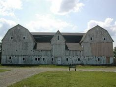 Condo barn...love this!  I could see a studio on one side and work shop on the other.