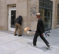 Washington, DC Artist Mark Jenkins #art