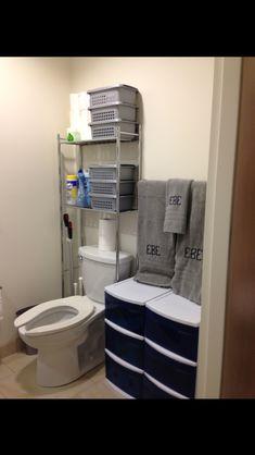 Creative Tonic's Ole Miss Dorm Room - gotta keep those Southern Boys organized too!
