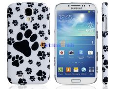 Paw Print Plastic Case for Samsung Galaxy S4/ I9500
