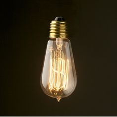 Vintage Edison Light Bulb - sm