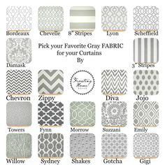 off Weekend Sale 1 Pair of Gray Designer Fabric Curtains for Bedrooms, Kitchens, Living rooms, Kids, and Nurseries New Shop special Grey Pillow Covers, Grey Pillows, Cover Pillow, Custom Curtains, Custom Pillows, Kitchen Curtains, Curtain Fabric, Fabric Samples, Interior Design