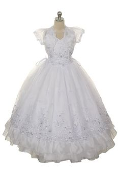 Hey, I found this really awesome Etsy listing at https://www.etsy.com/listing/181283693/sequin-first-communion-dress