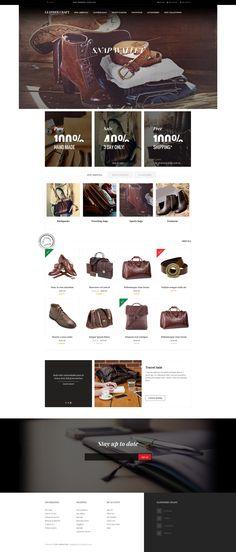 Leathercraft - #flat and elegant #responsive #Magento fashion theme
