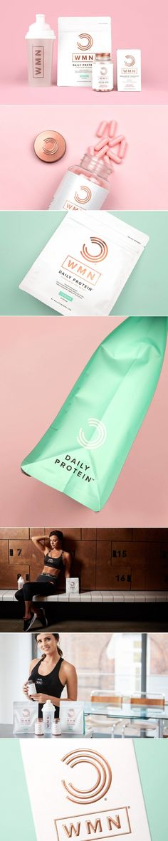 WMN Protein Aims To Help Women Reach Their Fitness Goals — The Dieline | Packaging & Branding Design & Innovation News