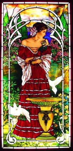 'Spanish Dancer' by Bogenrief Studios  #stained #glass