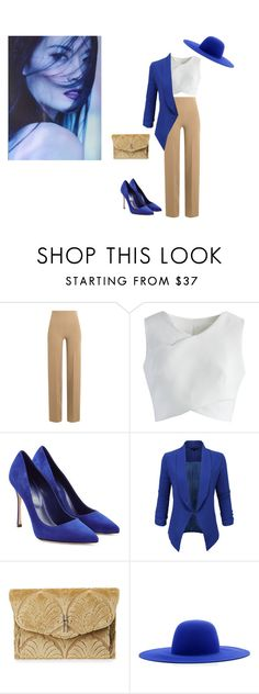 """Untitled #2"" by edina-n ❤ liked on Polyvore featuring Emilia Wickstead, Chicwish, Sergio Rossi, LE3NO, Hayward and Études"