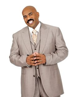 Men's Suit Separates - Steve Harvey Taupe Suit Jacket - K Fashion Superstore Big Man Suits, Cool Suits, Mens Suits, Steve Harvey Suits, Men's Suit Separates, Suit Fashion, Mens Fashion, Handsome Black Men, Men's Wardrobe