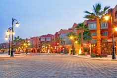 Hurghada Marina at dusk. Egypt #egypt #yoga www.yoga-escapes.com