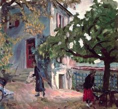 The Terrace, Pierre Bonnard