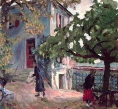 The Terrace, Pierre BONNARD (1867-1947)