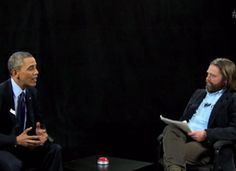 """Pres. Obama makes a surprise appearance on Zach Galifianakis' web show, """"Between Two Ferns."""" As the host lobs screwball questions, Obama lands a few solid blows to Galifianakis' ego."""