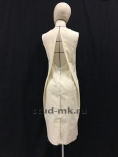 Студия Модного Кроя - Платья, блузки Origami Fashion, Diy Fashion, Fashion Outfits, Fashion Design, Clothing Patterns, Dress Patterns, Sewing Patterns, Moda Peru, Draping Techniques