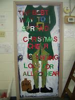 holiday door decorating contest the notre dame school talent show 2013 christmas door contest