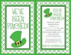 Cute neighbor idea for St. Patrick's Day!