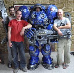 Starcraft: Terran Marine #cosplay
