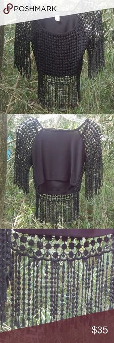 5th & Ocean Crop Top, NWOT 5th & Ocean Black Lace Crop Top, size Small. NWOT. It is gorgeous! Very classy!! You can wear it off or on the shoulder. 5th & Ocean Tops Crop Tops