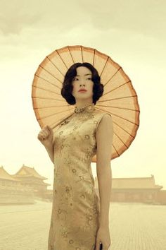 ILINA SIMEONOVA ASIAN WOMAN WITH PARASOL OUTSIDE Women Umbrellas Parasols, Asian Woman, Home Appliances, Women, House Appliances, Appliances, Woman