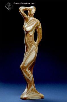 Plywood Sculpture...Standing Figure 5ft....#wood sculpture.