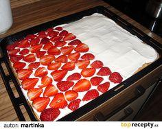 Czech Desserts, Raspberry, Strawberry, Waffles, Pudding, Fruit, Breakfast, Recipes, Food