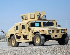Picture of the HMMWV M1114 UAH (Up-Armored Humvee) The M1114 became an up-armored version of the base Humvee, providing for better crew protection throughout.