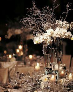 Beautiful table setting. #wedding #reception