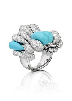 DROP DEAD GORGEOUS WITH DE GRISOGONO'S GOCCE COCKTAIL RING COLLECTION - lamasat Online