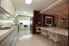 Cozinha Edifício Maison Karine  no Espaço Florense