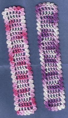 Delightfully Mesh Bookmark Crochet Pattern